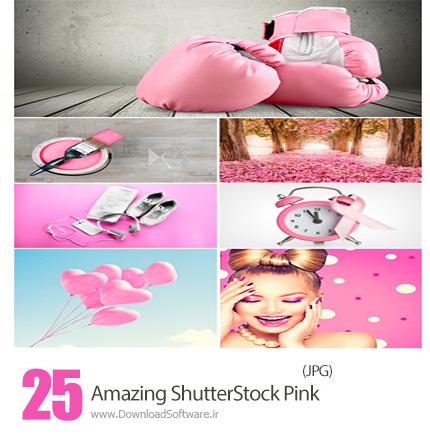 دانلود تصاویر با کیفیت اشیاء و پس زمینه های صورتی، رنگ سال 2016 از شاتر استوک - Amazing ShutterStock Pink