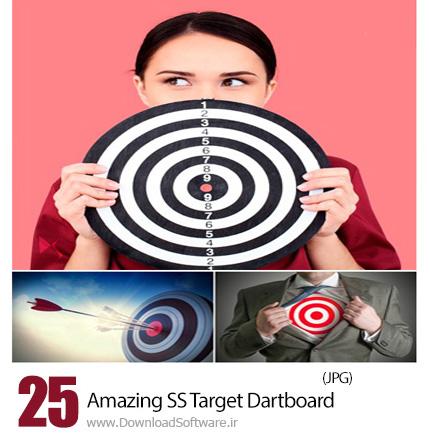 دانلود تصاویر با کیفیت دارت، هدف دارت از شاتر استوک - Amazing ShutterStock Target Dartboard