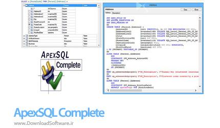 دانلود ApexSQL Complete نرم افزار توسعه دهنده