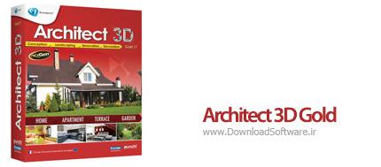 دانلود Architect 3D Gold – نرم افزار طراحی سه بعدی خانه ، ویلا ، باغ و دکوراسیون داخلی