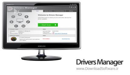 دانلود Drivers Manager + Portable - برنامه مدیریت درایورهای قطعات سخت افزاری