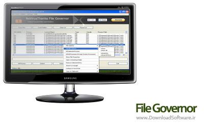 دانلود File Governor نرم افزار قفل کردن فایل و پوشه ها
