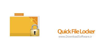 دانلود Quick File Locker نرم افزار قفل گذاری و مخفی سازی فایل و پوشه ها