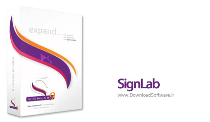 دانلود نرم افزار طراحی تصویر، وکتور و علائم برای دستگاه های چاپ و برش - SignLab v9.1.1 Build 7583