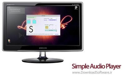 دانلود Simple Audio Player نرم افزار پخش ساده صوت