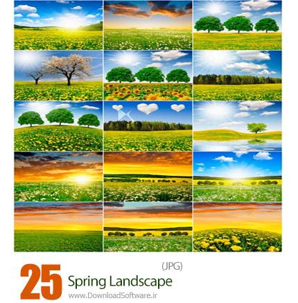 دانلود تصاویر با کیفیت مناظر زیبای بهار - Spring Landscape