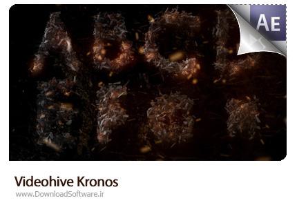 دانلود پروژه آماده افتر افکت نمایش لوگو با زغال افروخته Kronos از ویدئوهایو - Videohive Kronos