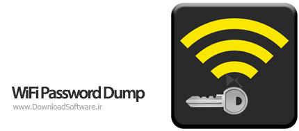 دانلود WiFi Password Dump نرم افزار نمایش پسورد وای فای WiFi ذخیره شده