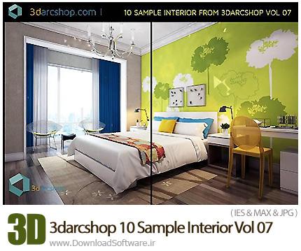 دانلود مدل های سه بعدی طراحی داخلی از 3darcshop - 3darcshop 10 Sample Interior Vol 07