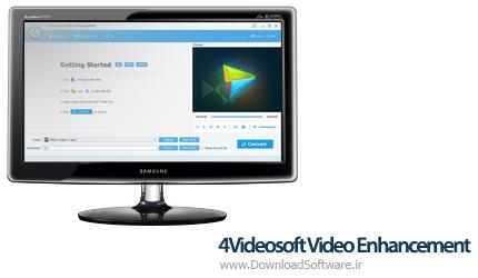 دانلود 4Videosoft Video Enhancement نرم افزار بهبود کیفیت ویدیوها