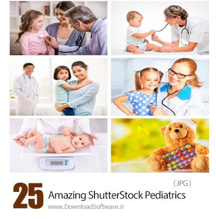 دانلود تصاویر با کیفیت پزشک اطفال، دکتر کودکان از شاتر استوک - Amazing ShutterStock Pediatrics
