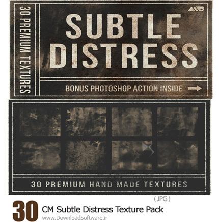 دانلود 30 تکسچر گرانج و کثیف - CM Subtle Distress Texture Pack