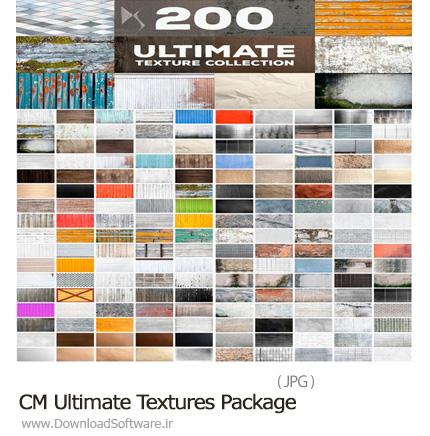 دانلود مجموعه تصاویر تکسچر متنوع، کاغذ، سنگ، چوب، فلز و پارچه - CM Ultimate Textures Package