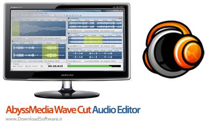 دانلود نرم افزار AbyssMedia WaveCut Audio Editor - نرم افزار برش فایل های صوتی