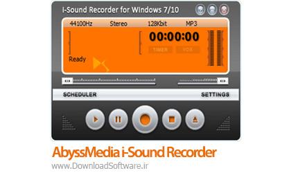 دانلود AbyssMedia i-Sound Recorder نرم افزار ضبط صدا