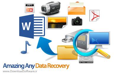 دانلود Amazing Any Data Recovery نرم افزار بازیابی اطلاعات