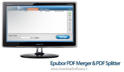 دانلود Epubor PDF Merger & PDF Splitter نرم افزار ادغام و شکاف فایل پی دی اف