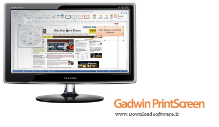 دانلود نرم افزار Gadwin PrintScreen - نرم افزار تهیه عکس از دسکتاپ