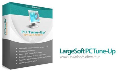 دانلود نرم افزار LargeSoft PC Tune-Up - نرم افزار بهینه سازی کامپیوتر