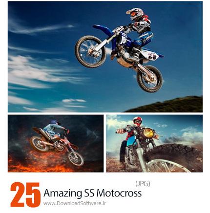 دانلود تصاویر با کیفیت موتورسیکلت از شاتراستوک - Amazing ShutterStock Motocross