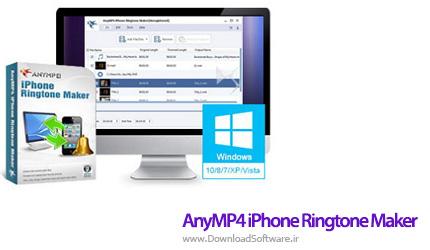 دانلود AnyMP4 iPhone Ringtone Maker نرم افزار ساخت زنگ موبایل آیفون