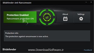 دانلود Bitdefender Anti-Ransomware - نرم افزار محافظت از سیستم در برابر انواع بد افزار های باج گیر
