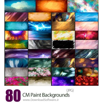 دانلود مجموعه تصاویر با کیفیت پس زمینه های نقاشی دیجیتال - CM Paint Backgrounds
