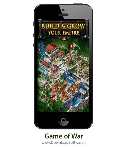 دانلود Game of War بازی جنگ ها برای آیفون