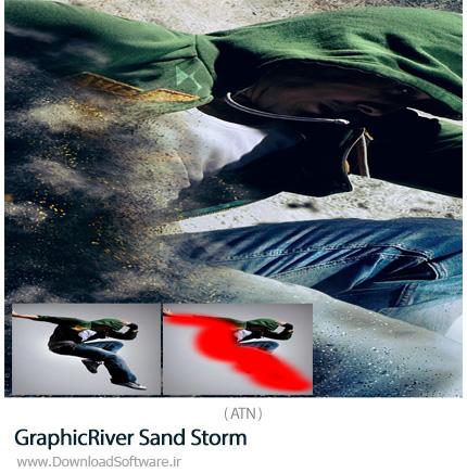 دانلود اکشن فتوشاپ ایجاد افکت طوفان شن و ماسه بر روی تصاویر از گرافیک ریور - GraphicRiver Sand Storm