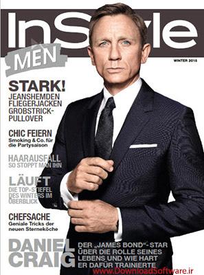 دانلود ژورنال لباس InStyle Men 2015