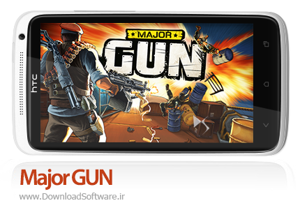 دانلود بازی Major GUN – اسلحه سنگین برای اندروید + پول بی نهایت