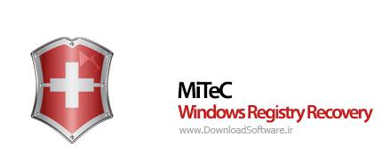 دانلود MiTeC Windows Registry Recovery بازیابی رجیستری ویندوز