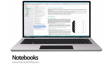 دانلود Notebooks for Windows نوت بوک فوق حرفه ای برای ویندوز