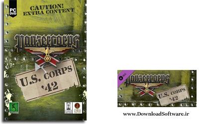 دانلود بازی Panzer Corps U.S Corps 42 برای PC