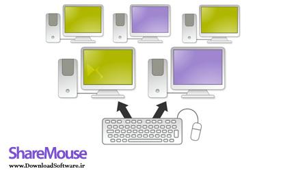 دانلود ShareMouse نرم افزار کنترل چند کامپیوتر با یک صفحه کلید و موس