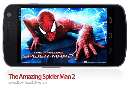 دانلود بازی اسپایدر من برای اندروید - The Amazing Spider Man 2 Android