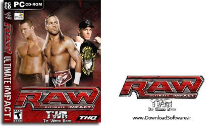دانلود WWE Raw Ultimate Impact بازی کشتی کج برای کامپیوتر