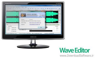 دانلود Wave Editor نرم افزار ویرایشگر فرمت WAV