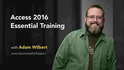 دانلود آموزش کامل نرم افزار اکسس - Access 2016 Essential Training