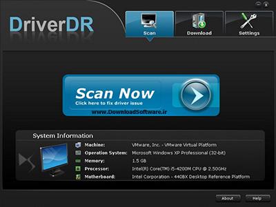 دانلود Driver DR – نرم افزار به روز رسانی درایورهای سیستم