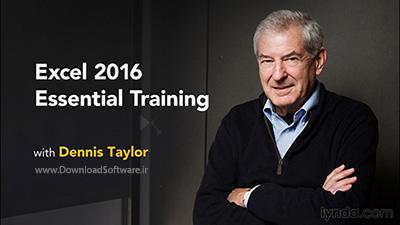 دانلود آموزش کامل نرم افزار اکسل - Excel 2016 Essential Training