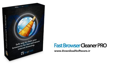 دانلود Fast Browser Cleaner PRO برنامه حذف اطلاعات انواع مرورگرهای وب