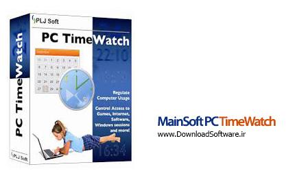 دانلود MainSoft PC TimeWatch نرم افزار زمانبندی کار با کامپیوتر