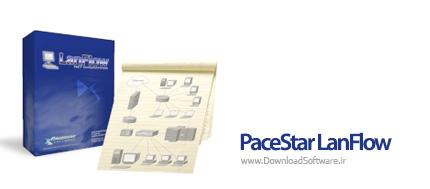 دانلود PaceStar LanFlow نرم افزار طراحی شبکه