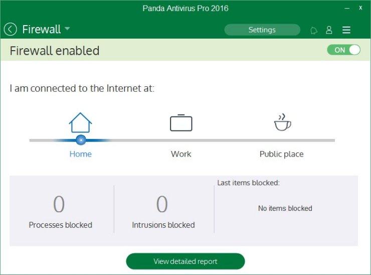 Panda Antivirus Pro screenshot