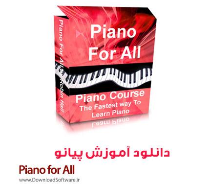 دانلود آموزش پیانو - Piano for All