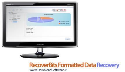 دانلود RecoverBits Formatted Data Recovery 2.4 برنامه بازیابی اطلاعات فرمت شده