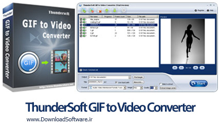 دانلود برنامه ThunderSoft GIF to Video Converter