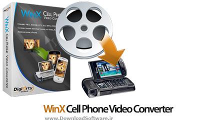 دانلود WinX Cell Phone Video Converter نرم افزار تبدیل فیلم برای انواع گوشی های موبایل