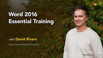 دانلود آموزش کامل نرم افزار ورد - Word 2016 Essential Training